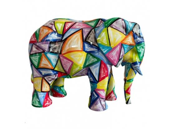 STATUE ELEPHANT EN RESINE PRESTIGE DESIGN