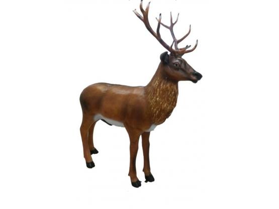 Statue en résine Cerf Grandeur Nature - 245 cm