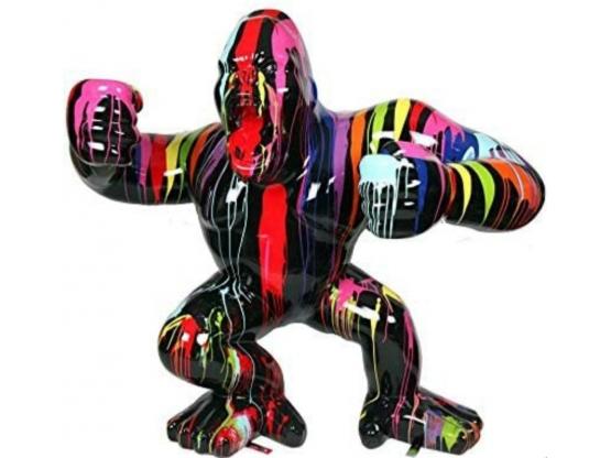 Sculpture en Résine Gorille Géant Design Trash - 170 cm