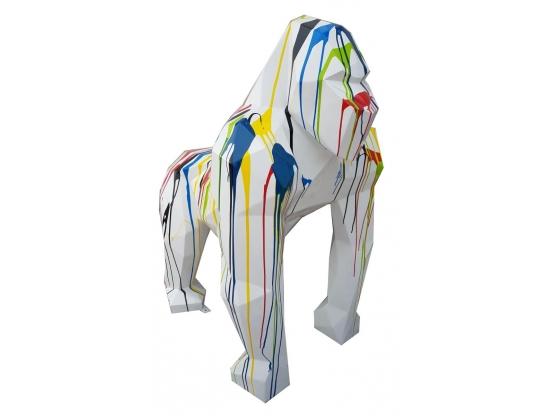 Sculpture Gorille Origami en Résine- 150 CM