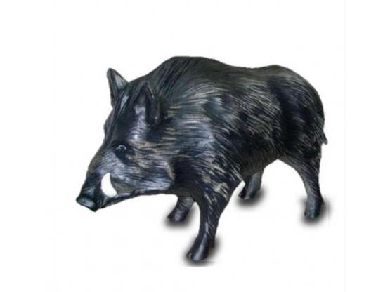 Sculpture en résine sanglier - 100 cm