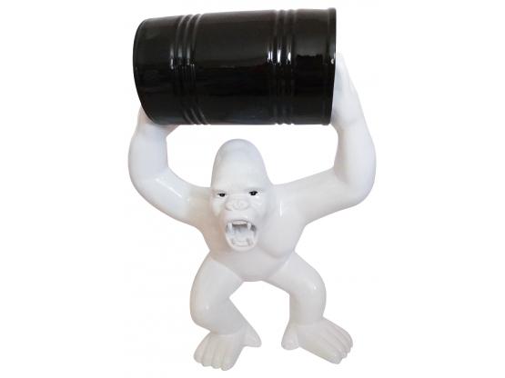 Sculpture Gorille bidon en Résine - 70 cm
